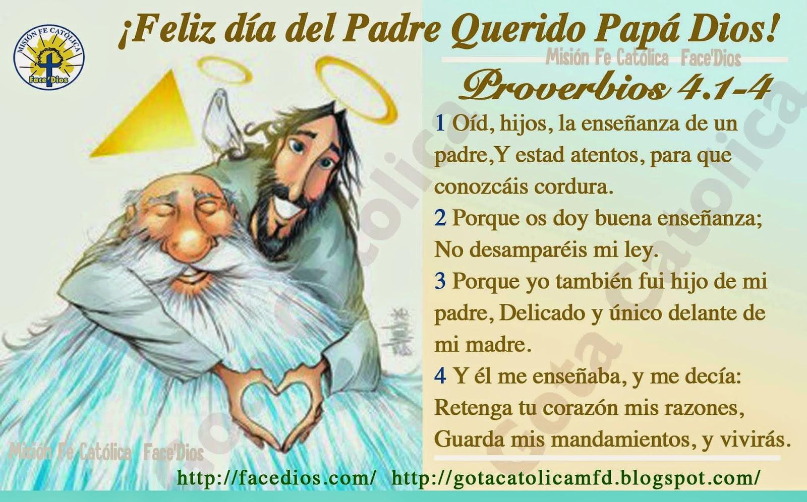 Gota Católica Gotas De Dios Feliz Día Del Padre Querido