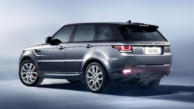All-new Range Rover Sport SUV back side