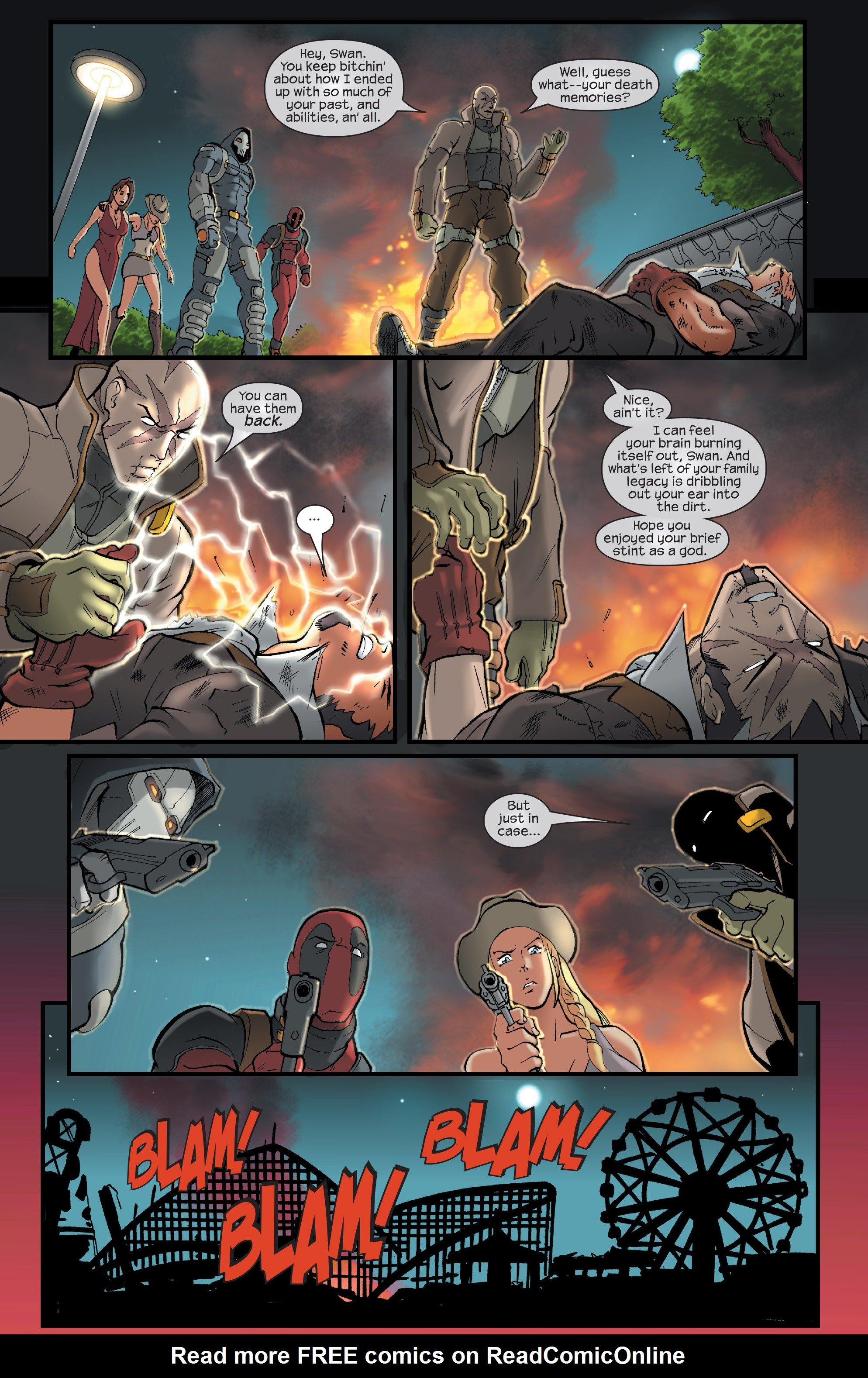 Read online Agent X comic -  Issue #15 - 20