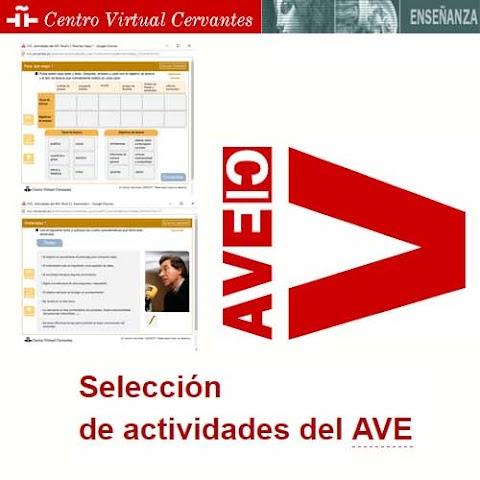 AVETECA: Selección de actividades del Aula Virtual del Español