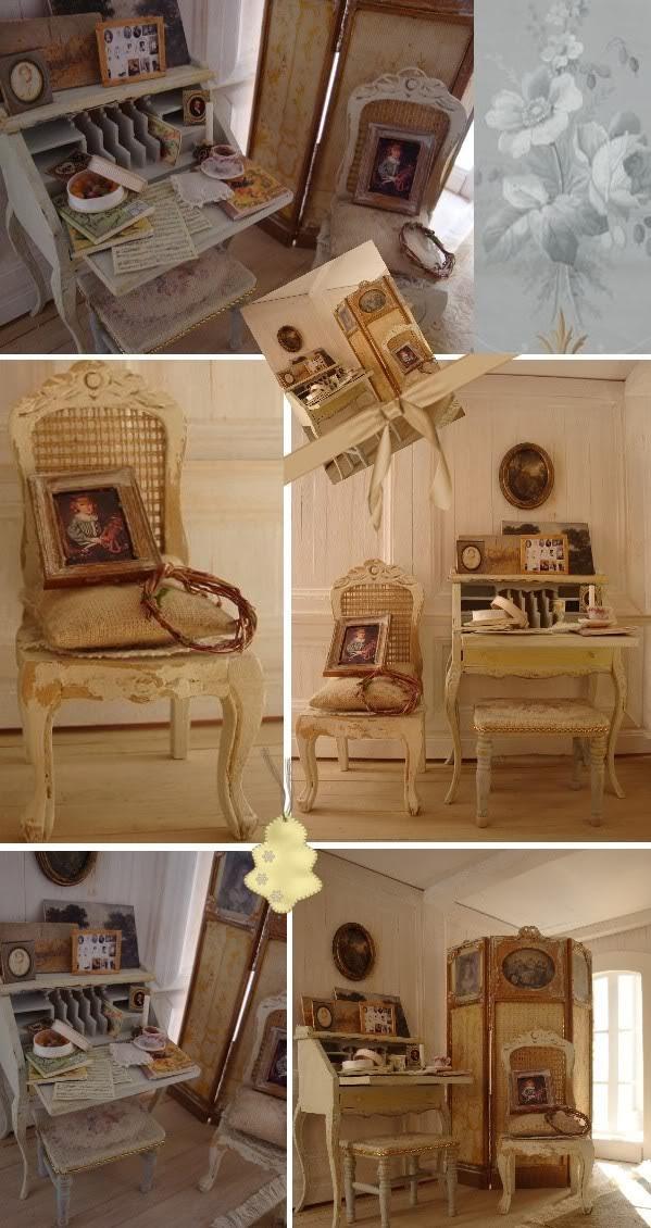 La Maison des Anges - Le Salon Blanc (Déco # 2)