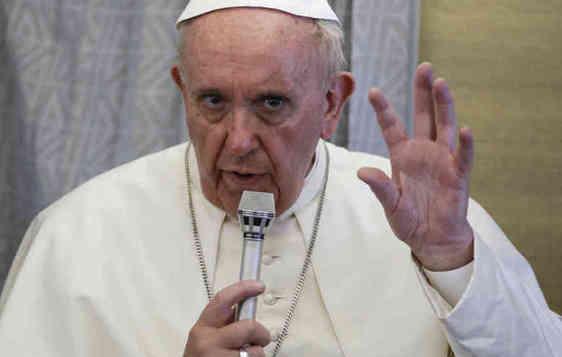 Papa Francis heresy