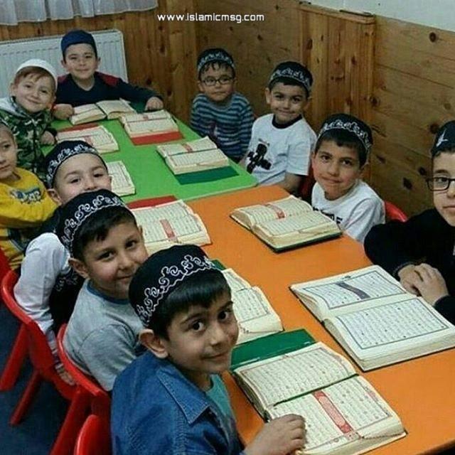 students quran class