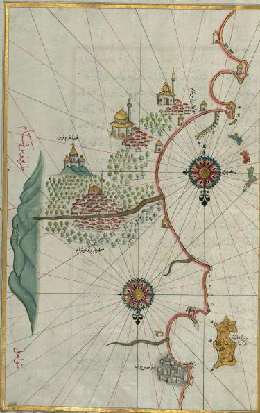 piri resi kitabı bahriye harita