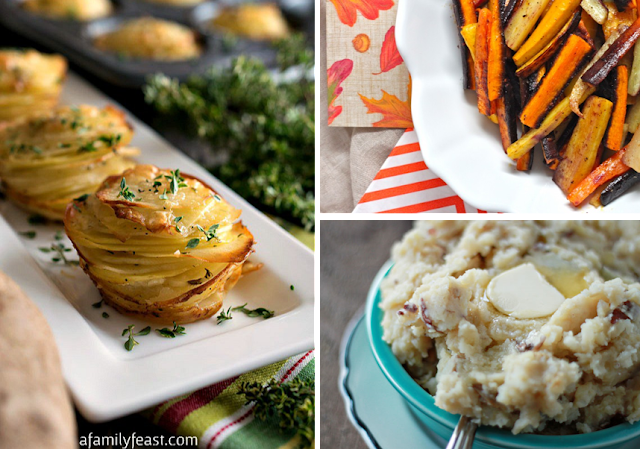 Home for thanksgiving - easy side dishes