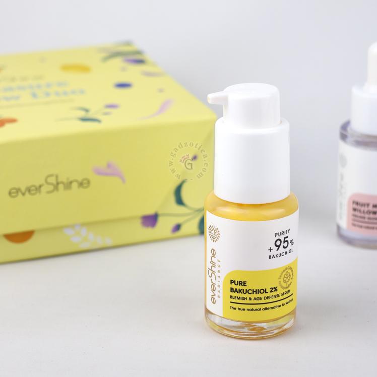 Review Evershine Pure Bakuchiol 2% Blemish & Age Defense Serum