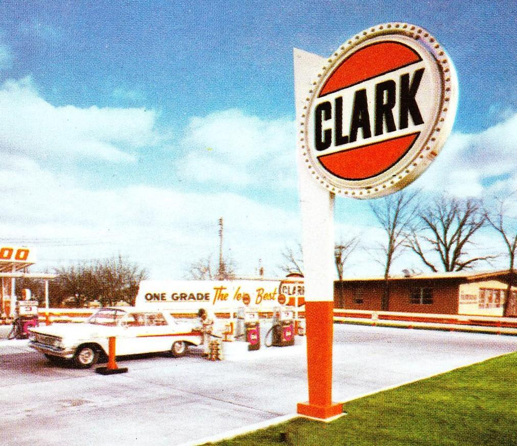 Daniel S Bridger's Trucking Blog: Golden Age of Clark Gas ...