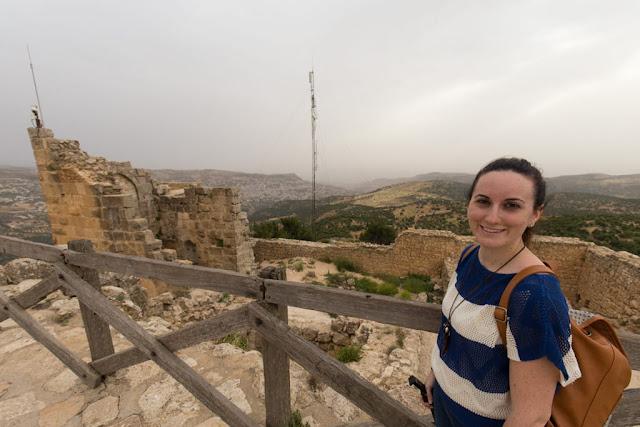 Vistas desde el Castillo de Ajlun