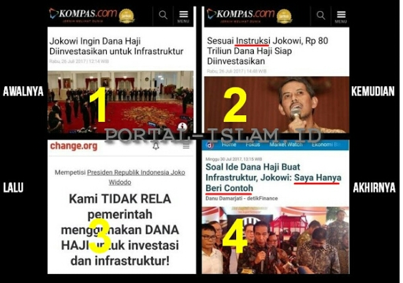 Setelah Ditolak Luas Keluar Jurus Ngeles! Soal Ide Dana Haji Buat Infrastruktur, Jokowi: Saya Hanya Beri Contoh