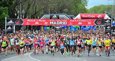Rock and Roll Madrid Marathon