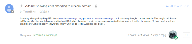 Iklan AdSense Tidak Keluar di Blog
