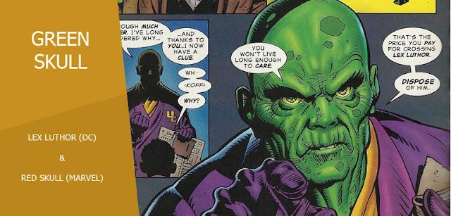 Green Skull (Lex Luthor) dalam Amalgam Universe
