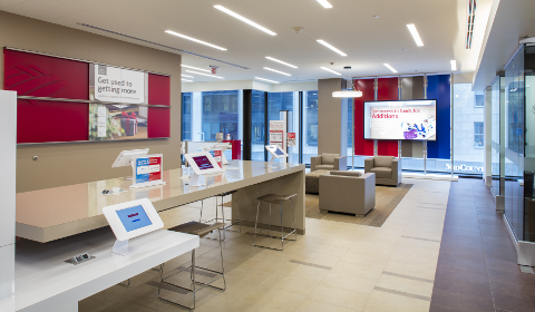 Centre Financier Bank of America