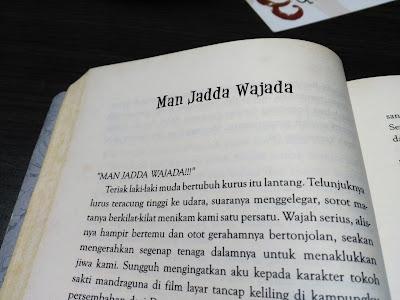 """Kalimat Pemantik Semangat """"Man Jadda Wajada"""""""