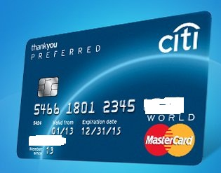 World Credit Cards Citi Thankyou Preferred Card