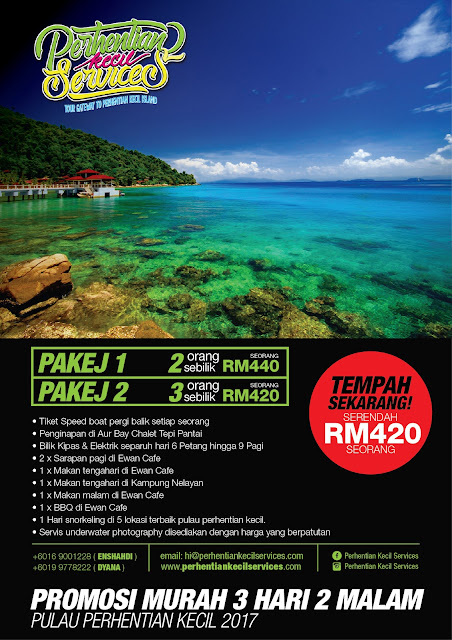 Pakej Pulau Perhentian Kecil 2017 , Pakej pulau perhentian besar 2017