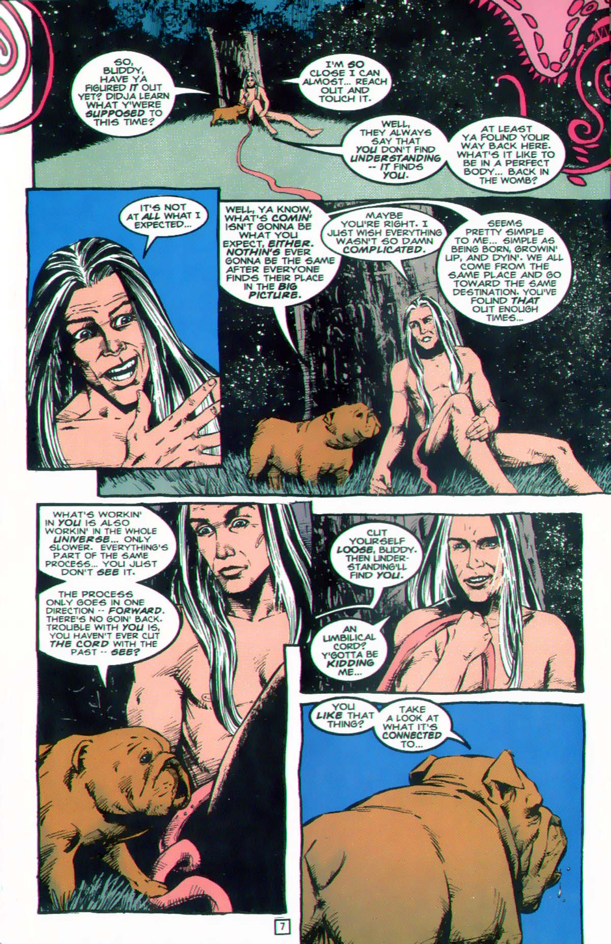 Read online Animal Man (1988) comic -  Issue #89 - 8