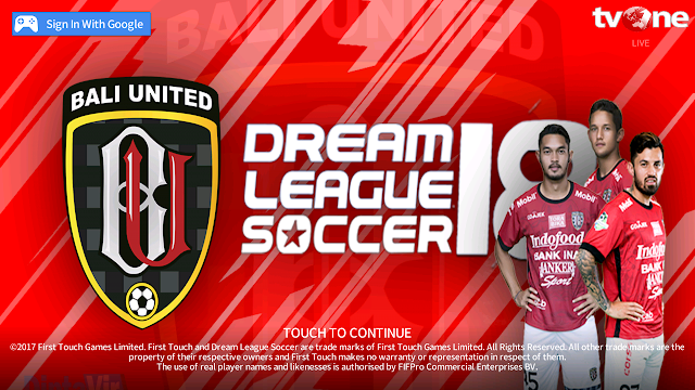 DLS 2018 MOD Bali United Base APK V5.04 MOD By Diptavir Unlimited Coins