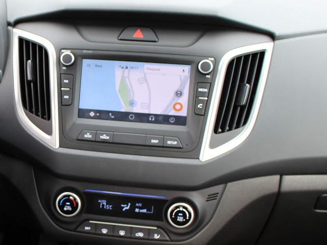 Hyundai Creta Pulse Plus 1.6 A/T 2019 - central multimídia