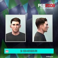 PES 6 Faces Ben Woodburn by El SergioJr