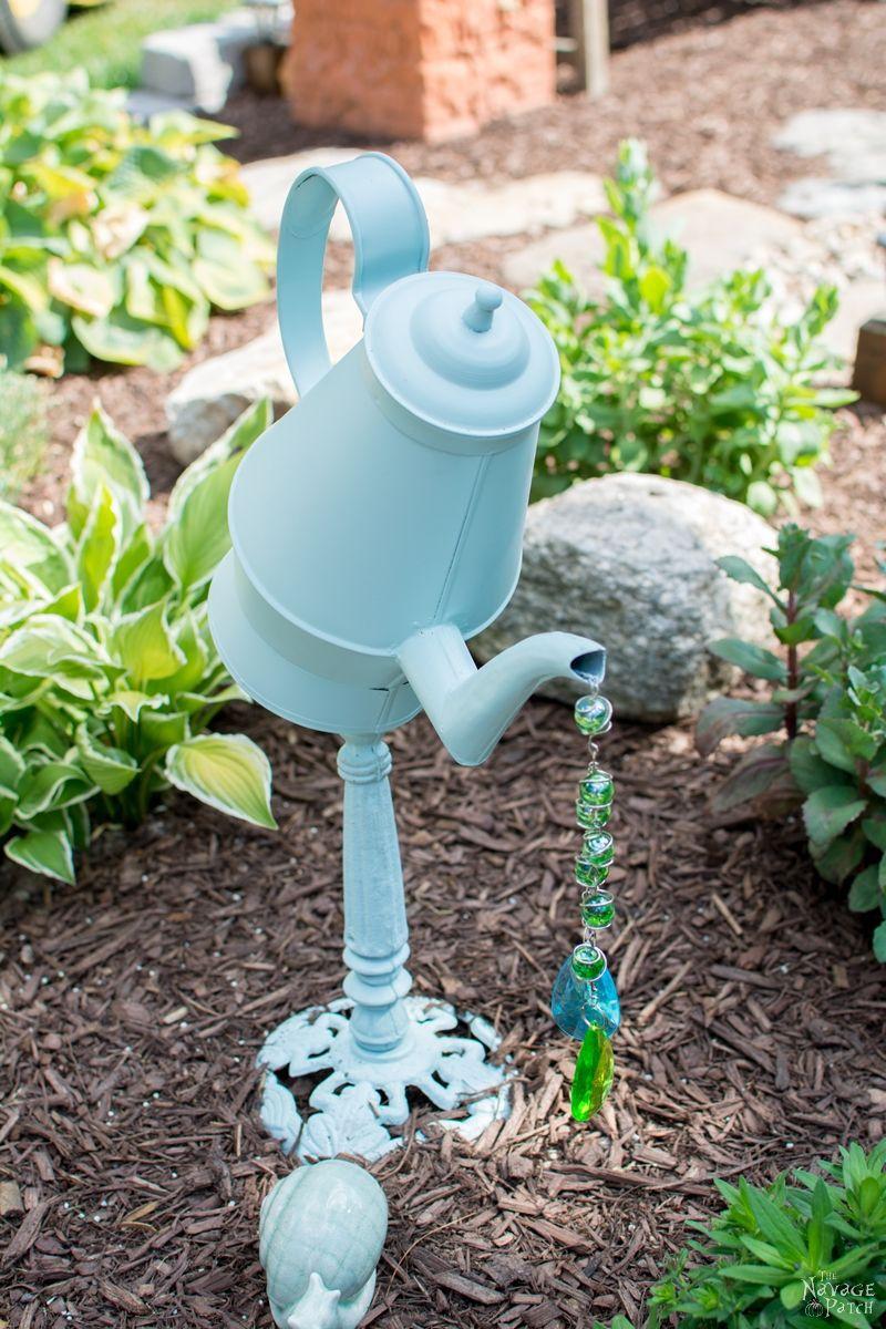 DIY Garden Decor - Inspiration and Tutorial | Subtropical ... on Easy Diy Garden Decor id=47778