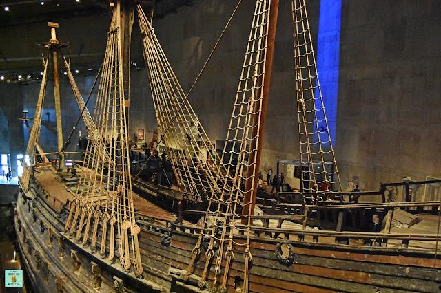 Museo Vasa en la isla de Skeppsholmen, Estocolmo