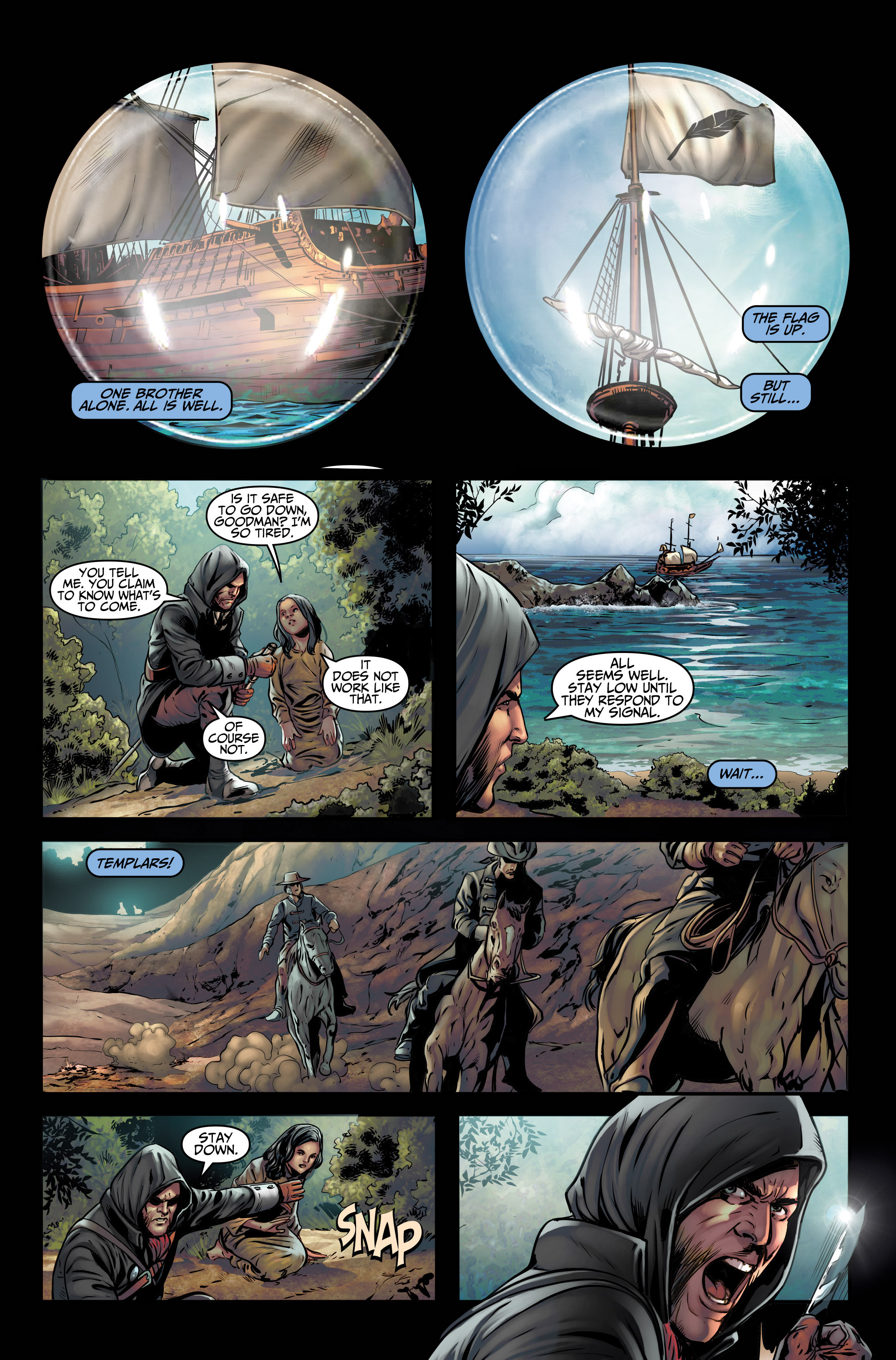 Read online Assassin's Creed (2015) comic -  Issue #3 - 22