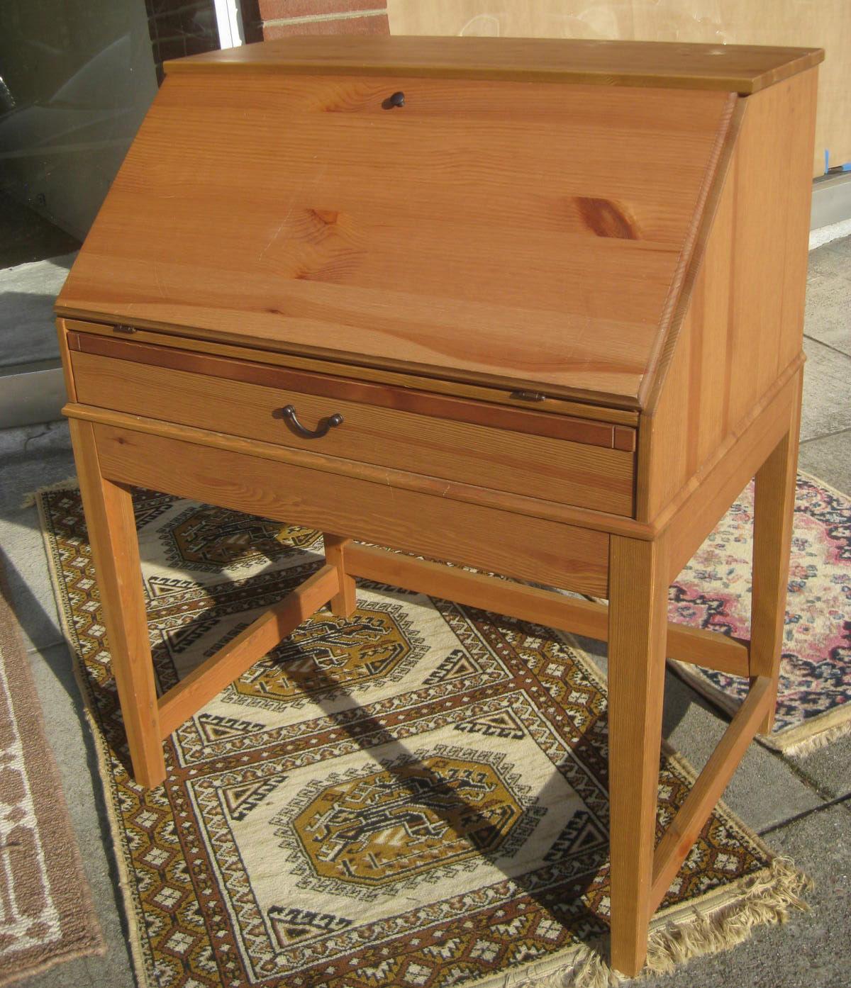 Sold Ikea Secretary Desk 60