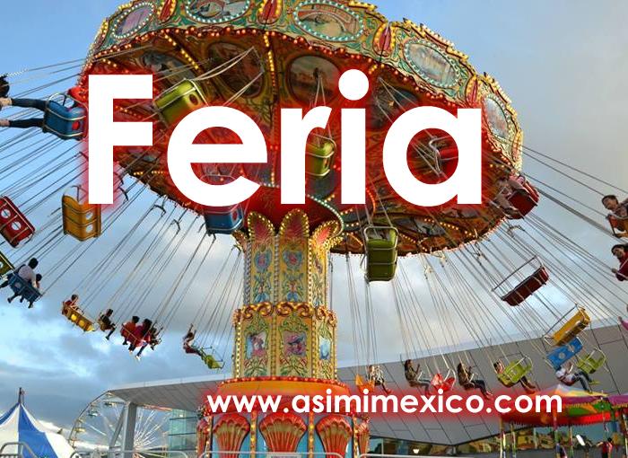 Juego con Sillas Voladoras en Feria de Durango