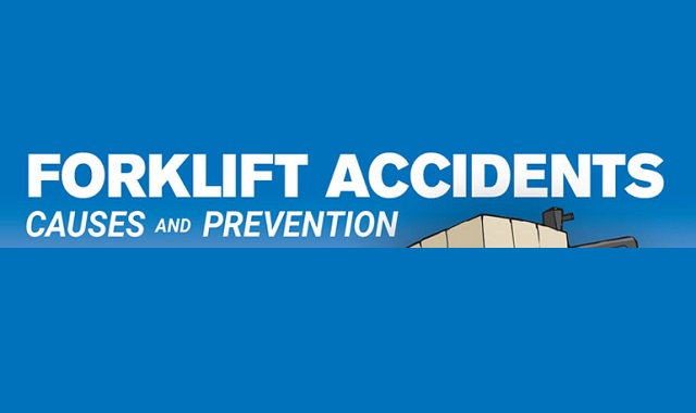 The forklift accidents #infographic