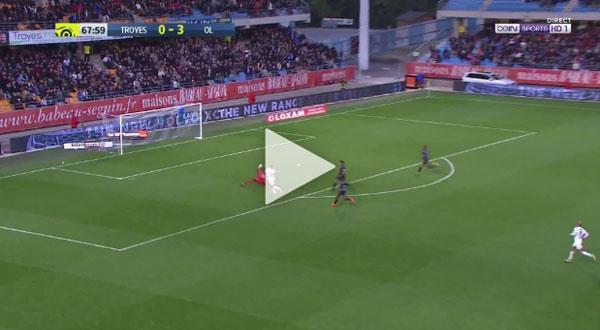 Video Troyes 0 - 5 Lyon Ligue 1 Vòng 10