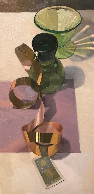 painting still life tarot art sarah sedwick