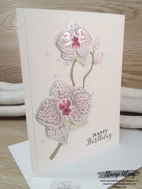 Stampin'Up! Climbing Orchids