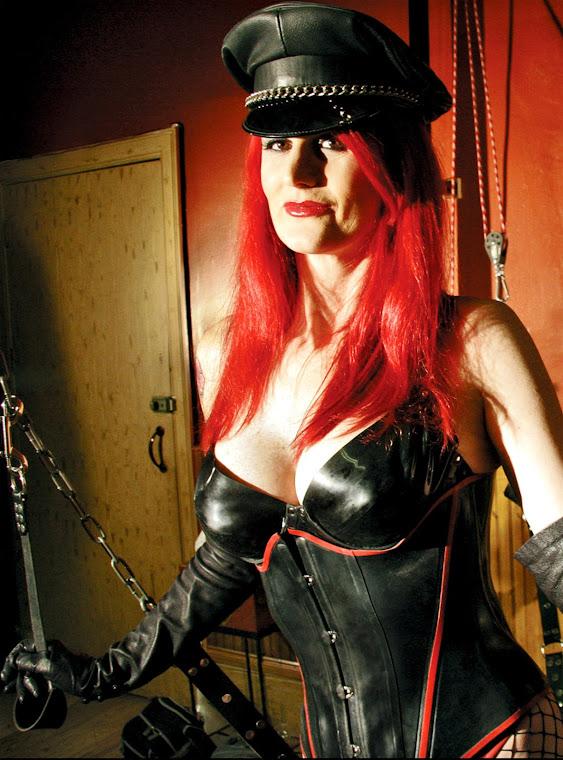 Mature Leather Mistress 33