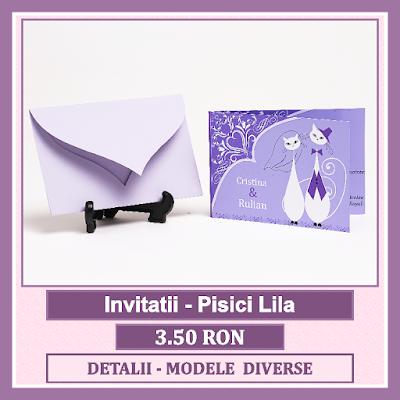 http://www.bebestudio11.com/2018/03/invitatii-nunta-pisici-lila.html