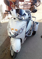 Side Wheel Attachment For Honda Aviator