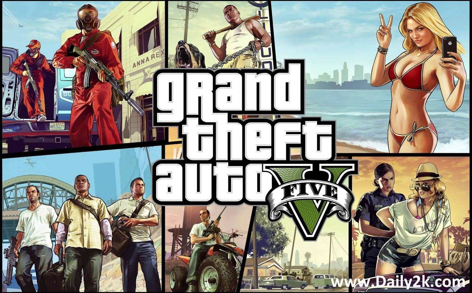 Grant Theft Auto 5 or GTA 5 Free Download