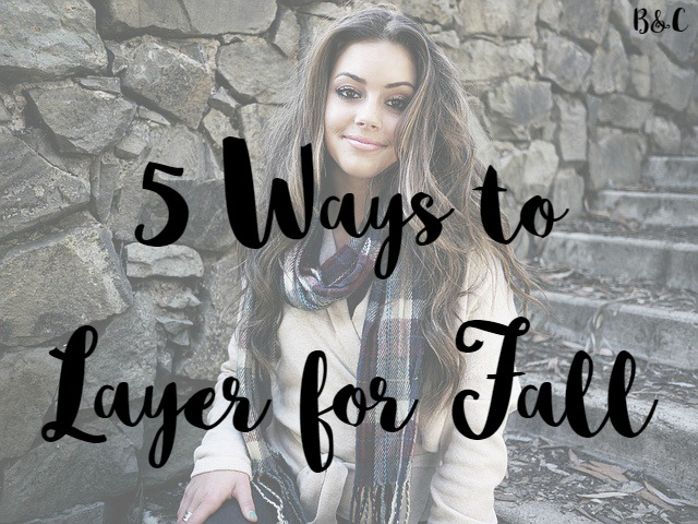 5 ways to layer for fall duster cardigan leather jacket military jacket blanket scarf puffer vest style fashion