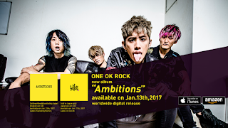New ONE OK ROCK Album, Ambitions