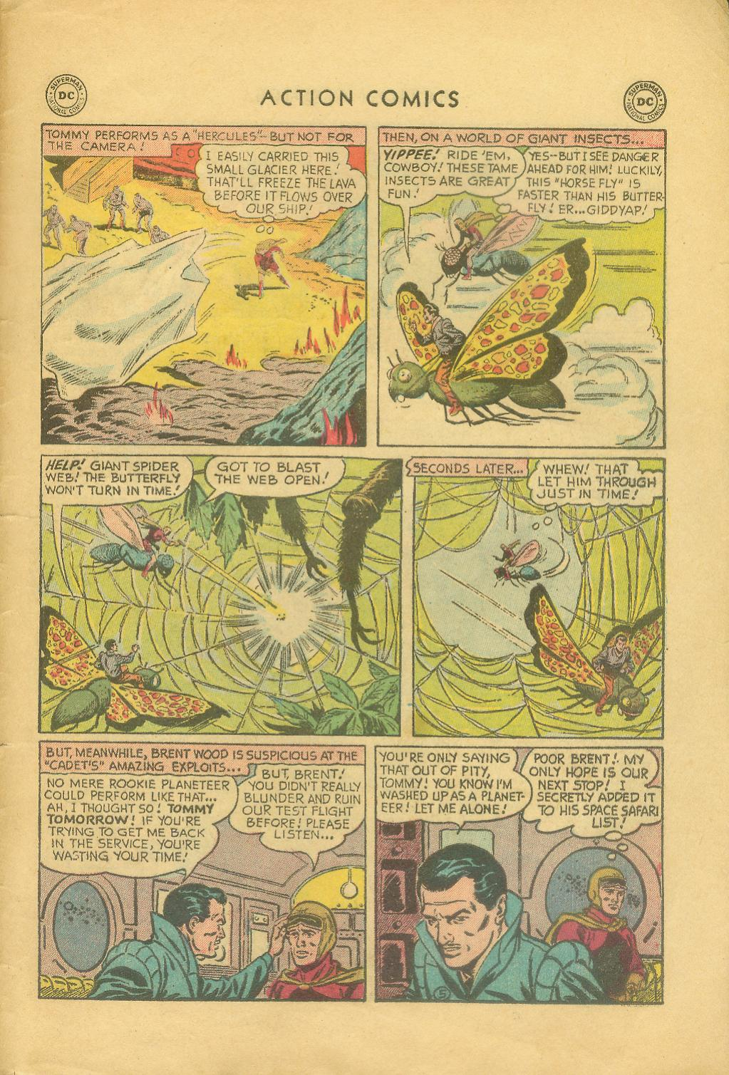 Read online Action Comics (1938) comic -  Issue #216 - 32