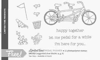 Stampin'UP!'s Pedal Pusher Stamp Set