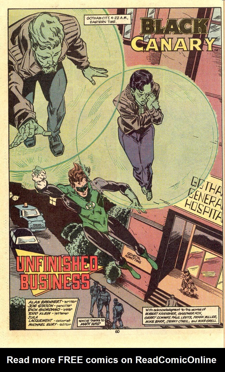 Read online Secret Origins (1986) comic -  Issue #50 - 63