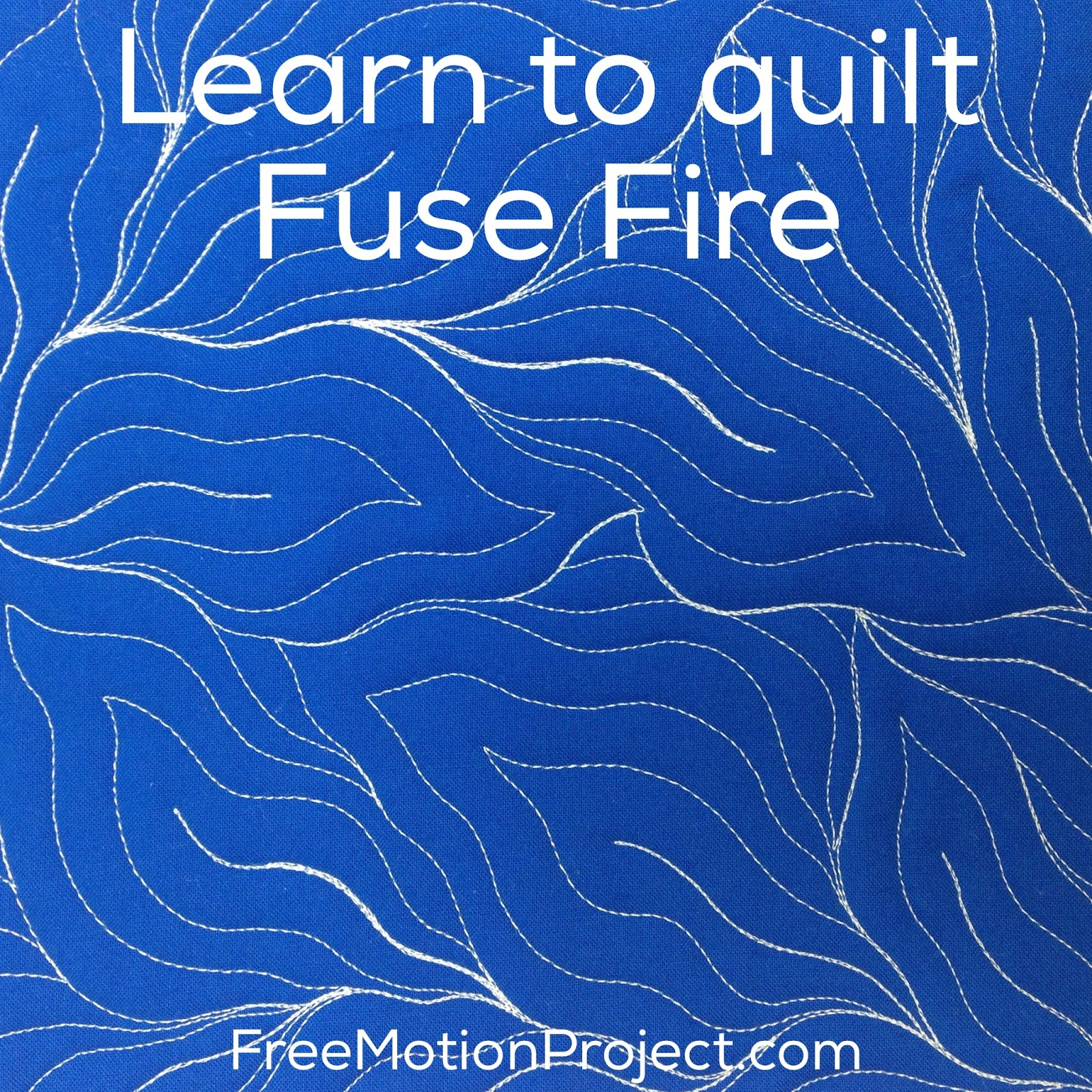 The Free Motion Quilting Project: Machine Quilt Fuse Fire #460 : quilt fuse - Adamdwight.com