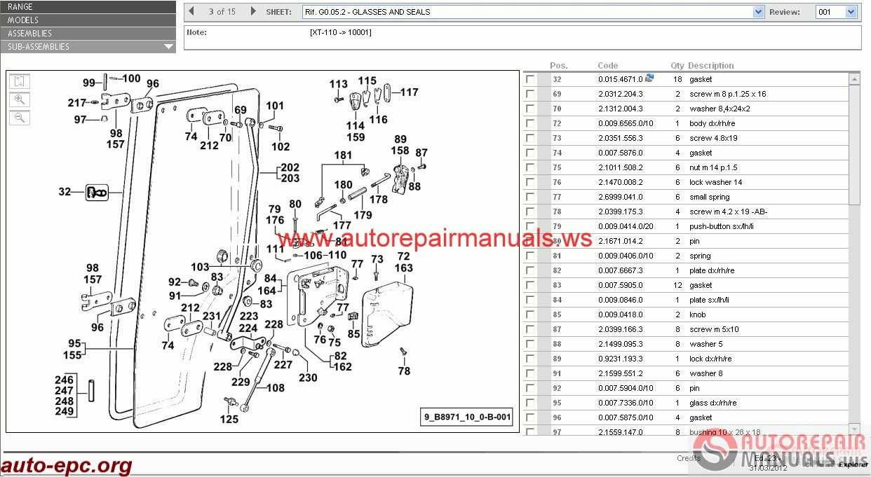 Free Auto Repair Manual : Hurlimann SDF e-Parts [03.2012