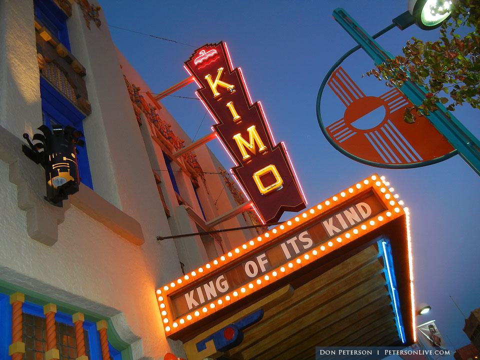 Seeks Ghosts New Mexico Haunted Kimo Theatre