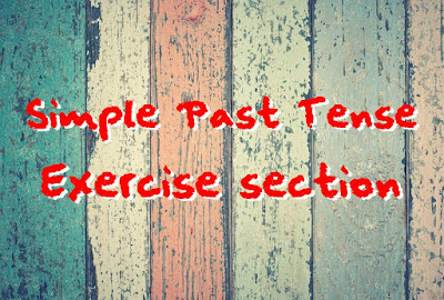 DBI | Exercise Simple Past Tense