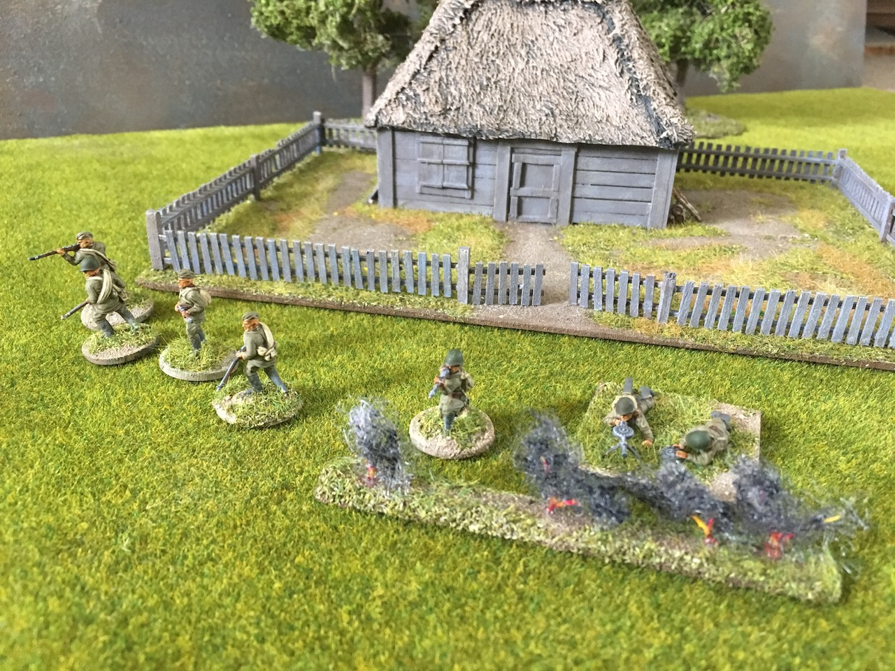 The Tactical Painter Covering Fire In Chain Of Command