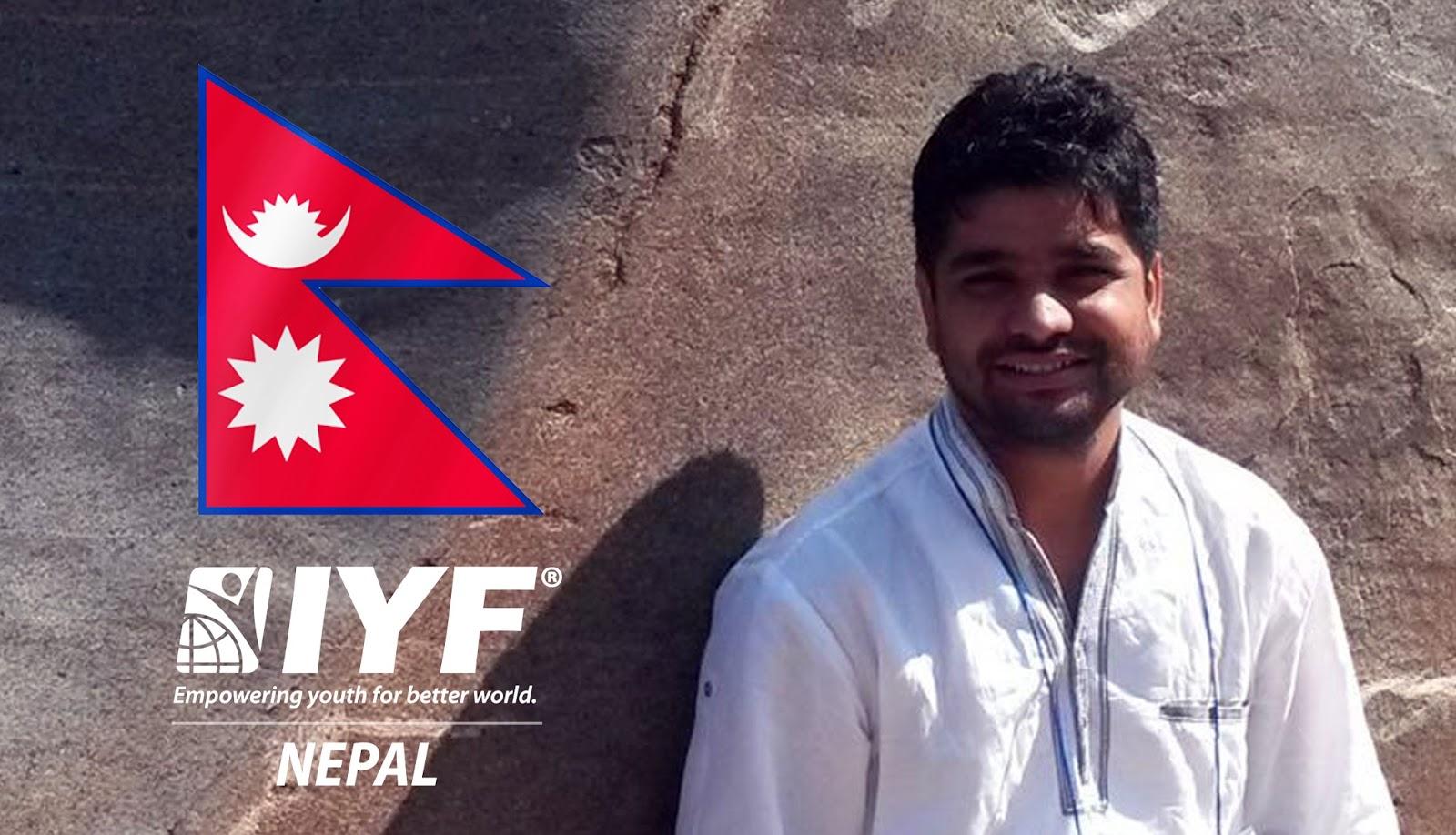 Deepak Bashyal, IYF Representative in Nepal