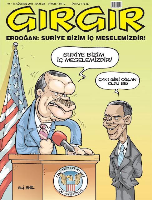 erdoğan obama karikatürü