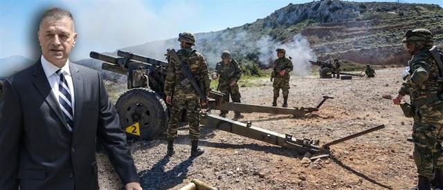 Στεφανής: Oι Ένοπλες Δυνάμεις παρέχουν στέρεη βάση για ευημερία και πρόοδο της πατρίδας